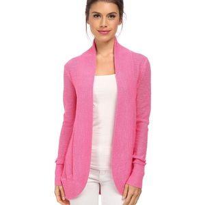 Lilly Pulitzer Amalie pink long sleeve cardigan